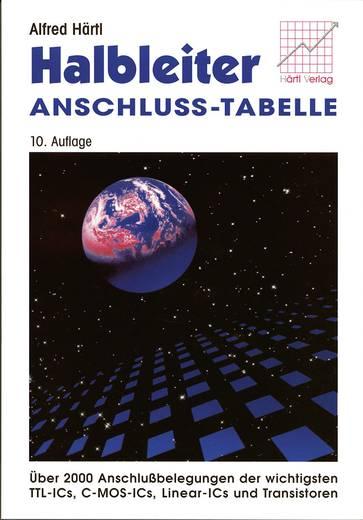 Halbleiter-Anschluss-Tabelle Auteur: Alfred Härtl ISBN-nr.: 978-3-980-07251-7