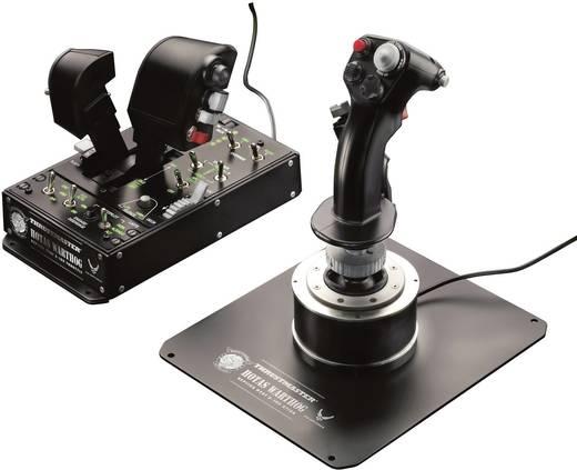 Thrustmaster Hotas Warthog Vliegsimulator-joystick USB PC Zwart