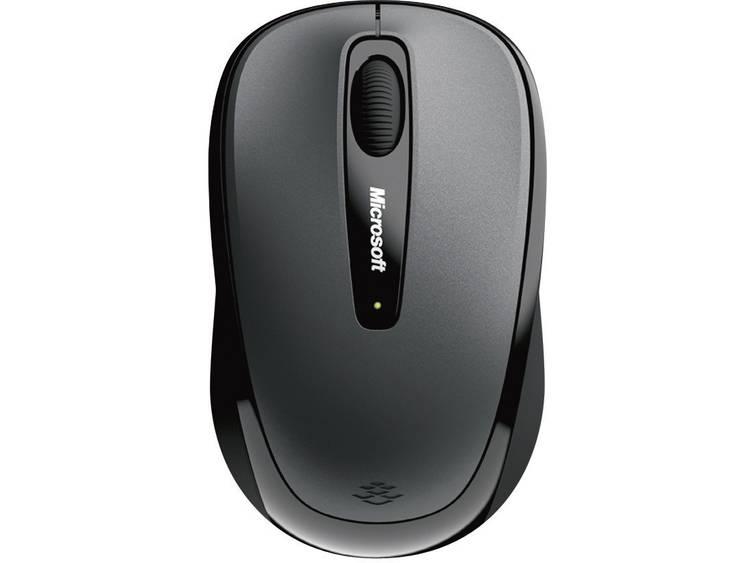 Microsoft Mobile Mouse 3500 Draadloze muis BlueTrack Zwart
