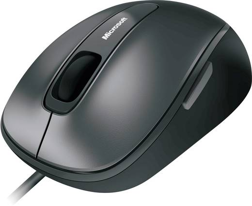 Microsoft Comfort Mouse 4500 USB muis Optisch Zwart