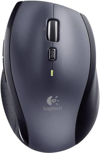 Logitech Wireless Mouse M705 Draadloze muis Laser Zwart/zilver