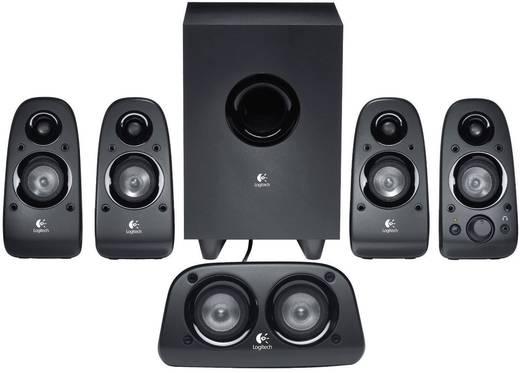 Logitech Surround Sound Speakers Z506 PC-luidsprekers Zwart Inhoud: 1 stuks