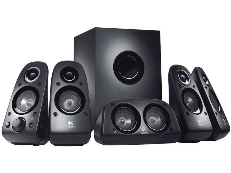 Logitech Z506 5.1 PC-luidsprekers Kabelgebonden 75 W Zwart