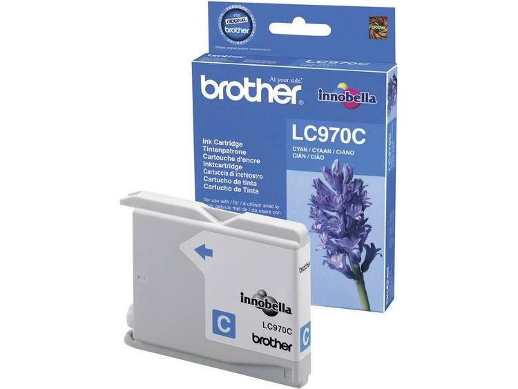 Brother Inkt LC-970C Origineel Cyaan LC970C