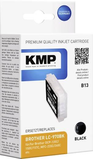 KMP Inkt vervangt Brother LC-970 Compatibel Zwart B13 1060,0001
