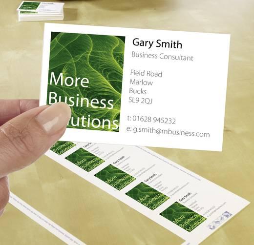 Avery-Zweckform Superior Visitenkarten, glatte Kanten Bedrukbare visitekaarten, gladde kant DIN A4 200 g/m² 250 stuks Wi