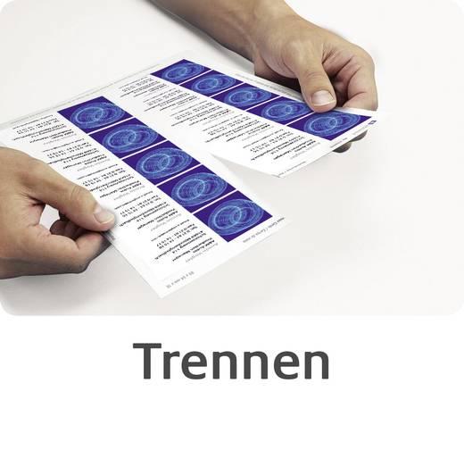 Avery-Zweckform Classic Bedrukbare visitekaarten DIN A4 185 g/m² 250 stuks Wit