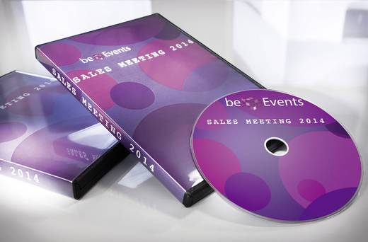 Avery-Zweckform C9780-15 Etiketten (A4) Ø 117 mm Folie Wit 30 stuks Permanent DVD-etiketten Inkt