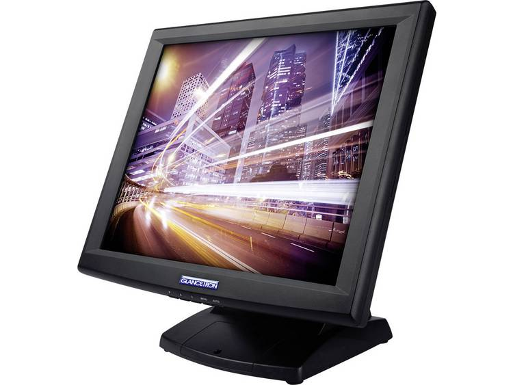 Touchscreen monitor 38.1 cm (15 inch) Glancetron GT15plus 1024 x 768 pix 5:4 8 ms VGA, USB, Serieel