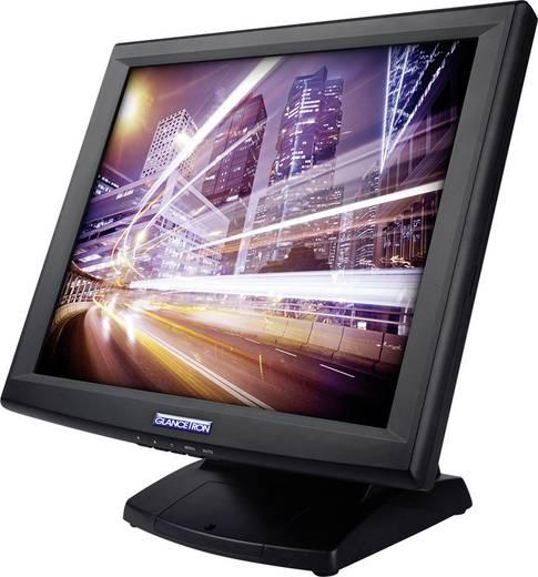 Touchscreen monitor 38.1 cm (15 inch) Glancetron GT15plus 1024 x 768 pix 5:4 8 ms VGA, USB, Serieel (9-pol.)