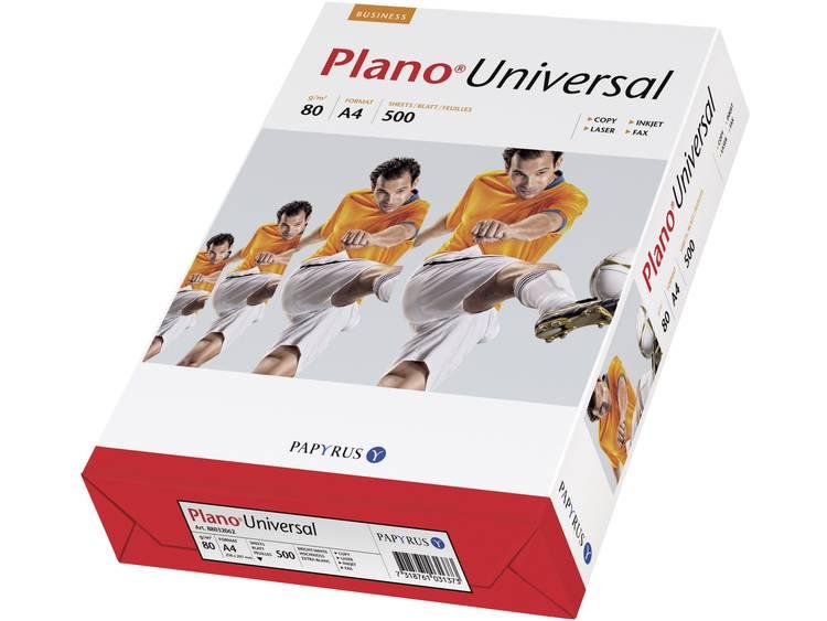 Papyrus Plano Universal Printpapier DIN A4 80 g-m² 500 vellen Wit