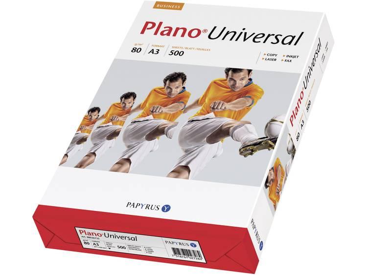 Papyrus Plano Universal Printpapier DIN A3 80 g-m² 500 vellen Wit