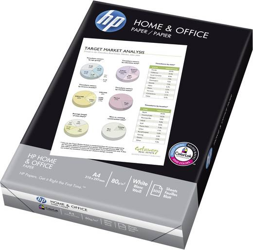 HP Home & Office Printpapier DIN A4 80 g/m² 500 vellen Wit