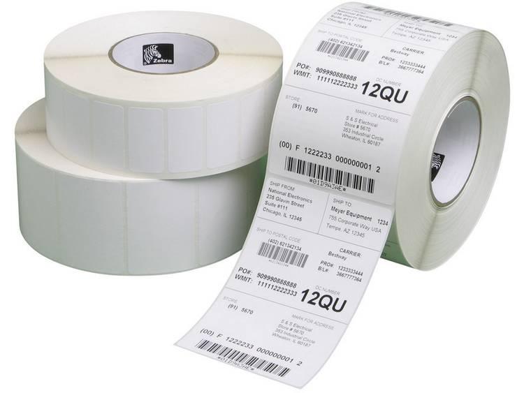 Zebra Etiketten (rol) 102 x 152 mm Papier Wit 5700 stuks Permanent 800294-605 Verzendetiketten