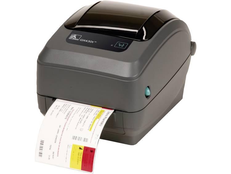 Zebra GX430T Labelprinter Warmtetransmissie 300 x 300 dpi Etikettenbreedte (max.): 110 mm USB, RS-232, Parallel