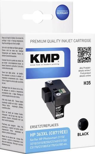 KMP Inkt vervangt HP 363 Compatibel Zwart H35 1700,0001