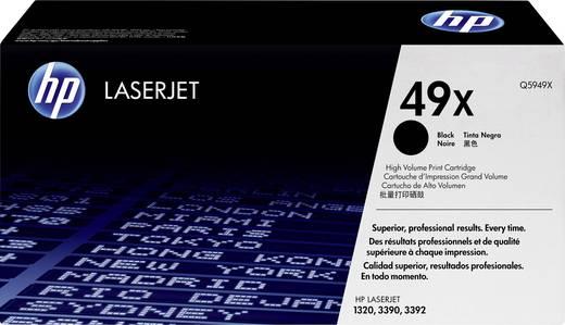 HP Tonercassette 49X Q5949X Origineel Zwart 6000 bladzijden