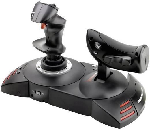Thrustmaster T-Flight Hotas X Vliegsimulator-joystick USB PC, PlayStation 3 Zwart