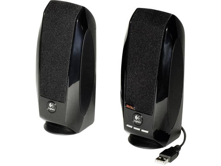 Logitech S-150 2.0 PC-luidsprekers Kabelgebonden 1.2 W Zwart