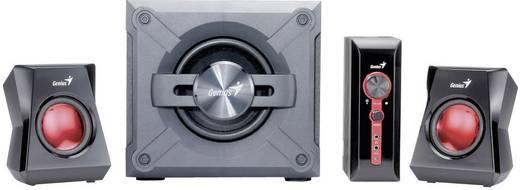 Genius SW-G2 1.1250 luidsprekerset PC-luidsprekers Zwart, Grijs, Rood Inhoud: 1 stuks