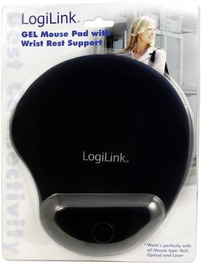Muismat met polssteun LogiLink ID0027 Ergonomisch Zwart
