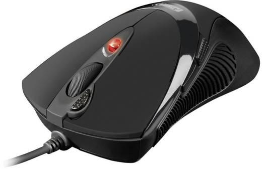 Sharkoon FireGlider Gaming muis, zwart