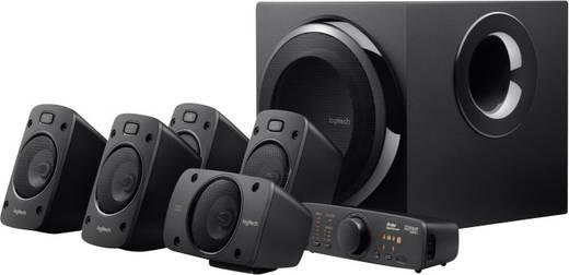 Logitech Surround-Sound Speakers Z906 PC-luidsprekers Zwart Inhoud: 1 stuks