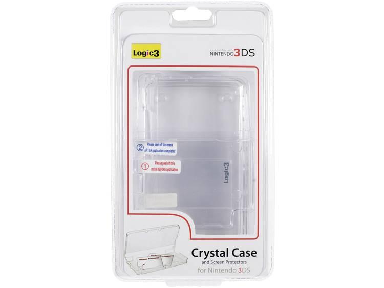 Nintendo 3DS Crystal Case Acryl hoes en beschermfolies voor de beeldschermen