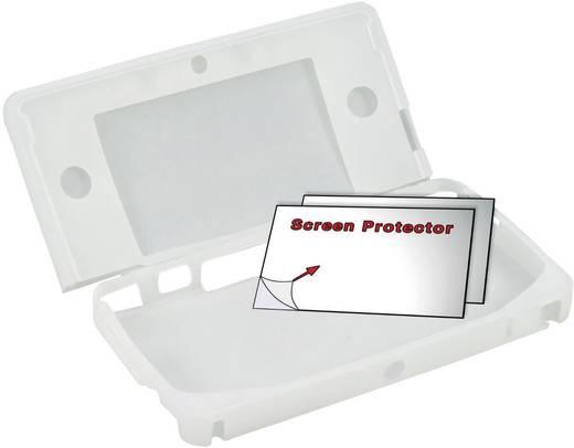 Nintendo 3DS - siliconen beschermhoes en beschermfolies voor het beeldscherm