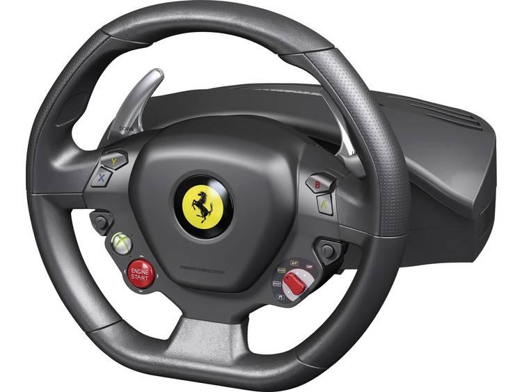 Stuur Thrustmaster Ferrari 458 Italia Racing Wheel USB PC, Xbox 360 Zwart Incl. pedaal