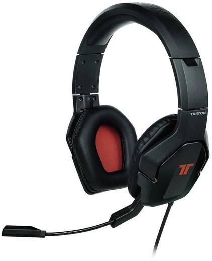 Gaming headset USB Kabelgebonden, Stereo Tritton Micro-casque stéréo Trigger Over Ear Zwart