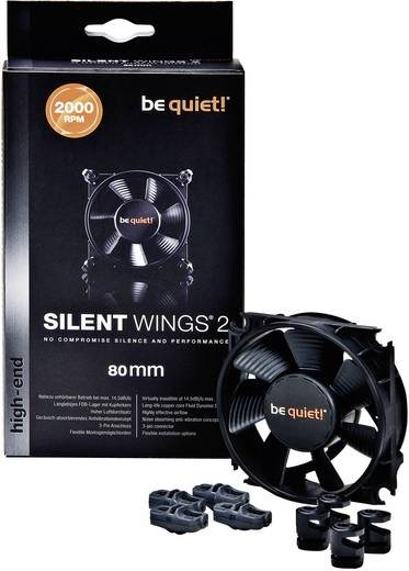 Be Quiet Silent Wings 2 80 mm PC-ventilator