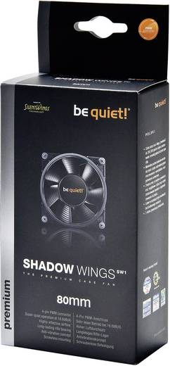 Be Quiet Shadow Wings 80 mm pc-ventilator - PWM