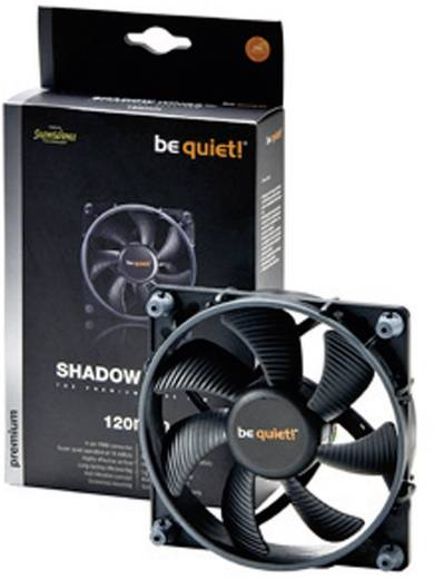 Be Quiet Shadow Wings SW1 120 mm Mid-Speed PC-ventilator