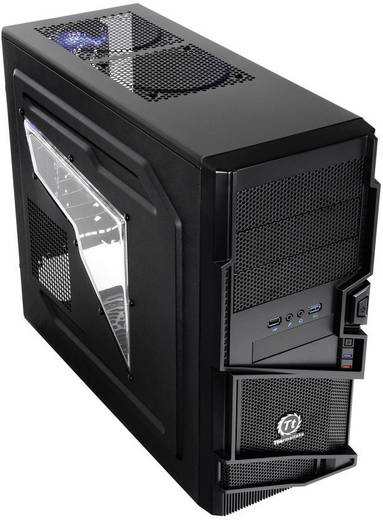 Midi-tower PC-behuizing Thermaltake Commander MS-I Zwart