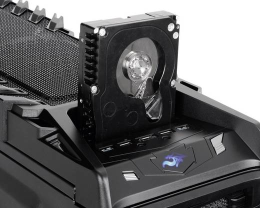 Tower Gaming-behuizing Thermaltake Overseer RX-I Zwart