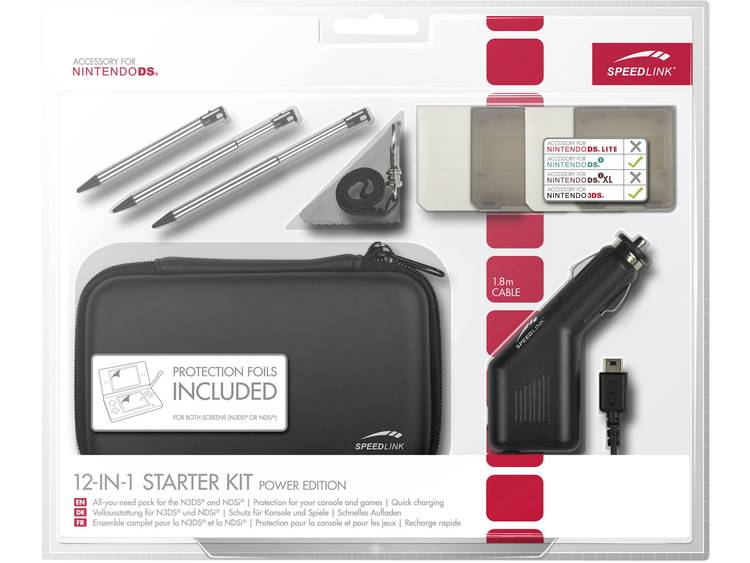 12-in-1 starter kit power edition black N3DS-NDSi (Speedlink)