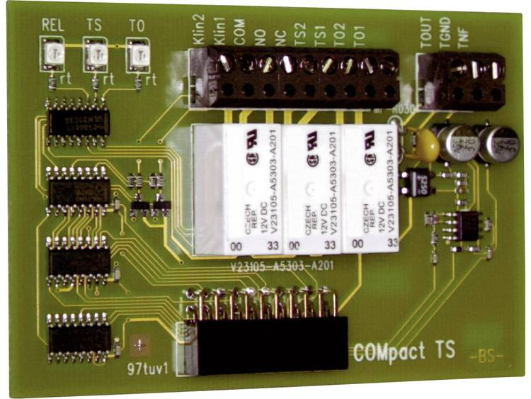 TS-module Auerswald Compact Ter uitbreiding van ISDN-systemen Compact 2206, Compact 4410