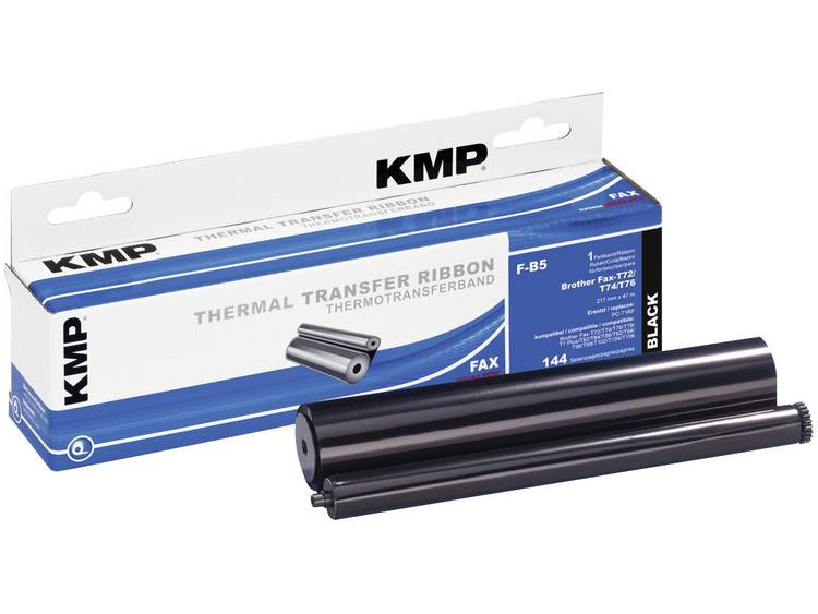 KMP Thermo transferrol voor fax vervangt Brother PC 71RF Compatibel 144 bladzijd