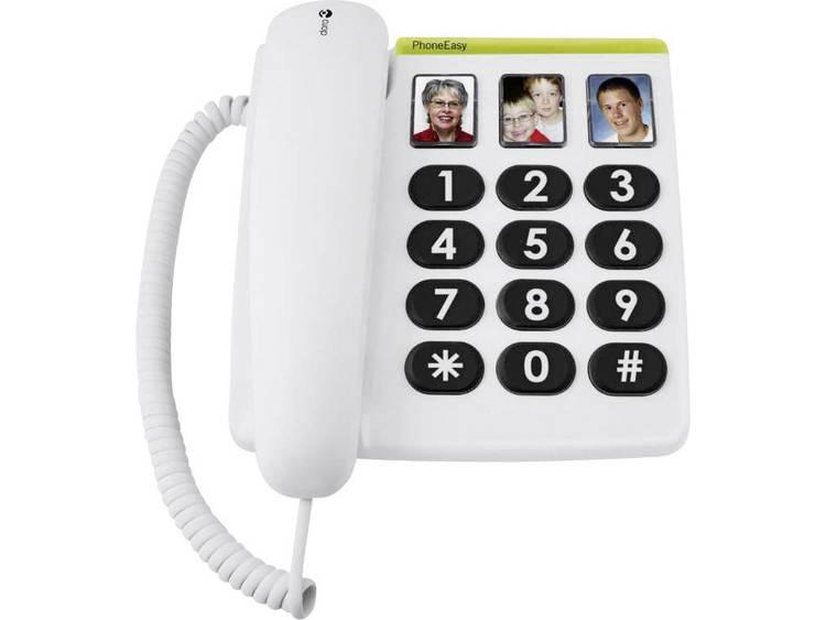 doro PhoneEasy 331 ph Bedrade seniorentelefoon Wit