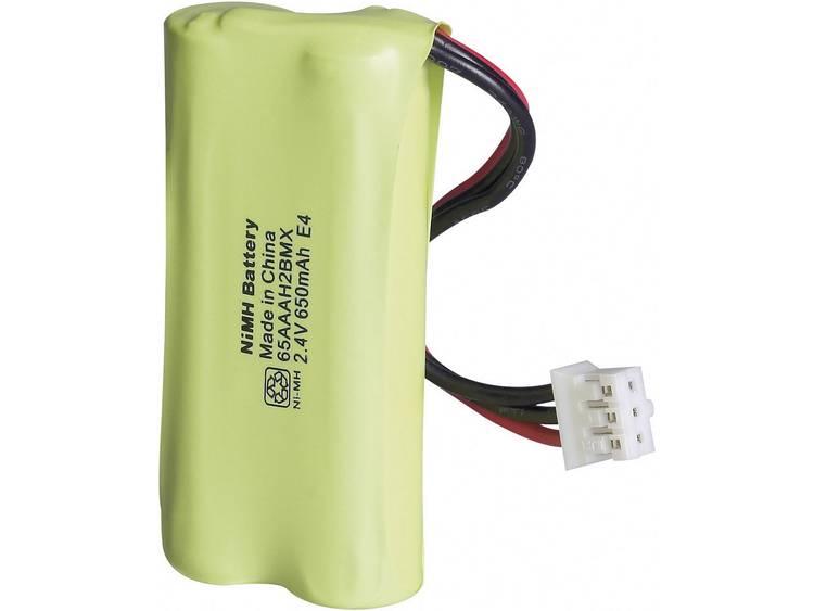 Accu voor draadloze telefoon GP Batteries GP65AAAH2BMX, T356 Geschikt voor merk: Philips NiMH 2.4 V 650 mAh
