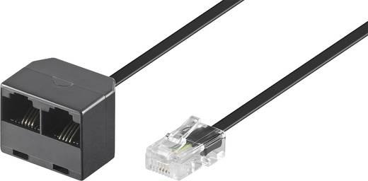 ISDN Y-adapter [1x RJ45-stekker 8p4c - 2x RJ45-bus 8p4c] 0.