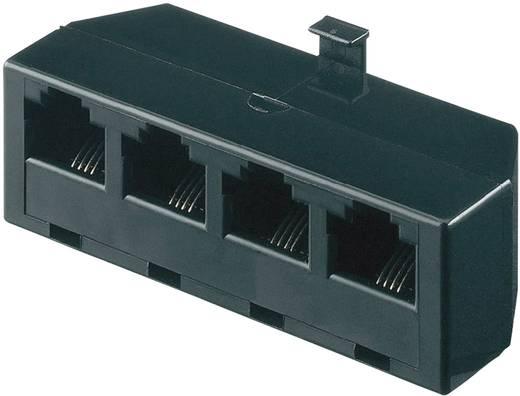 ISDN Adapter [1x RJ45-stekker 8p4c - 4x RJ45-bus 8p4c] 0 m<