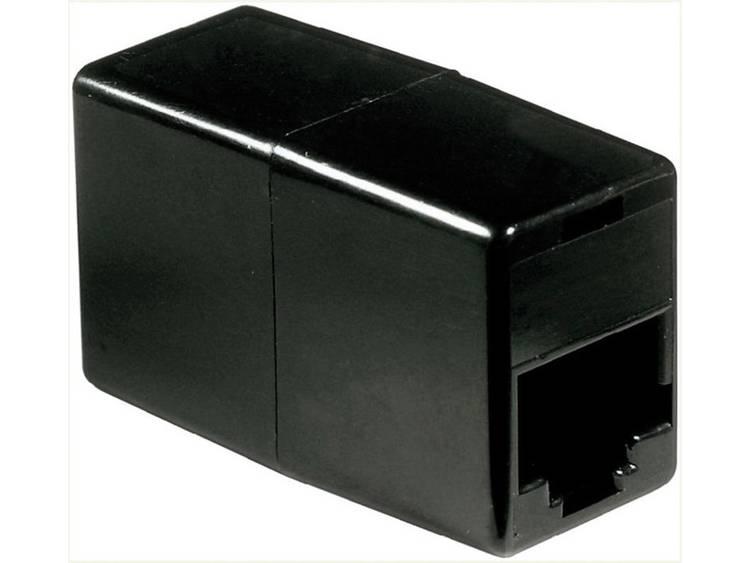 ISDN Adapter [1x RJ45-bus 8p4c - 1x RJ45-bus 8p4c] 0 m Zwart Basetech