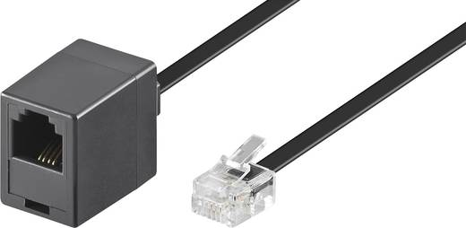 ISDN Verlengkabel [1x RJ-stekker 6p4c - 1x RJ11-bus 6p4c] 1