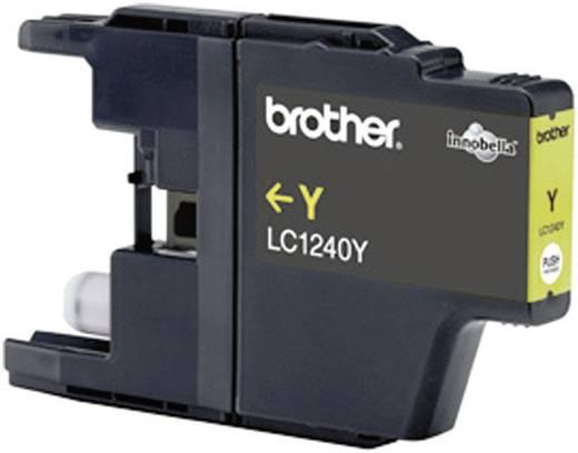 Brother Inkt LC-1240Y Origineel Geel LC1240Y