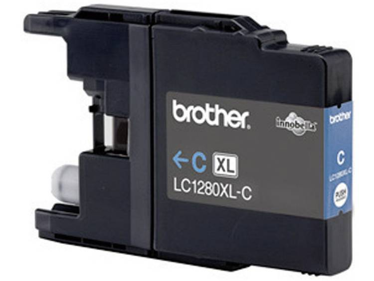 Brother Inkt LC-1280XLC Origineel Cyaan LC1280XLC