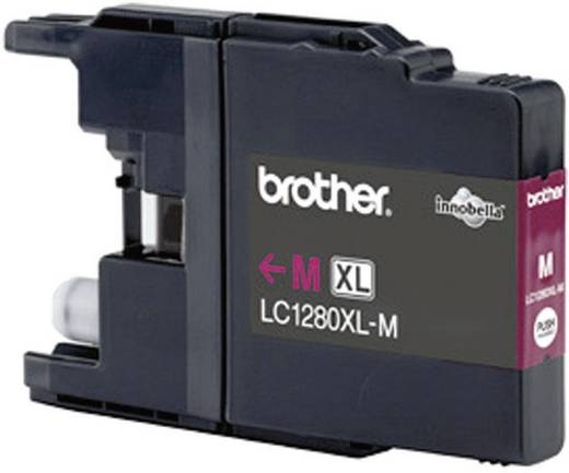 Brother Inkt LC-1280XLM Origineel Magenta LC1280XLM