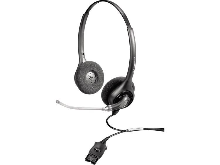 Plantronics HW261/A SupraPlus QD (Quick Disconnect) Telefoonheadset Zwart