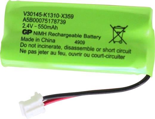 Accu voor draadloze telefoon Gigaset S30852-D1640-X1 Geschikt voor merk: Gigaset NiMH 2.4 V 400 mAh